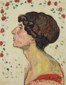 Ferdinand Hodler, Bildnis Madame Darel, 1912